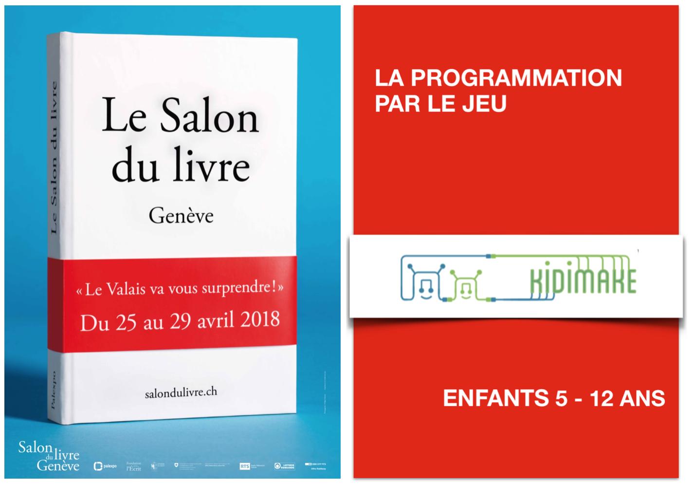 Salon du livre 2018